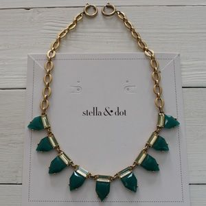 Green & Gold Eye Candy Necklace